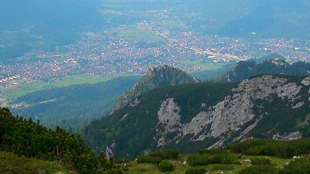 ZUT 2014 - Blick auf Grainau